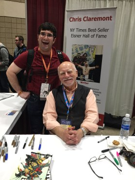 Chris Claremont at Planet Comicon