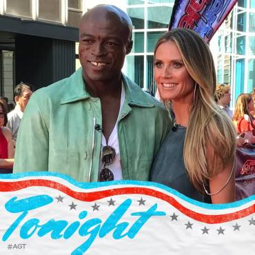 Seal and Heidi Klum AGT