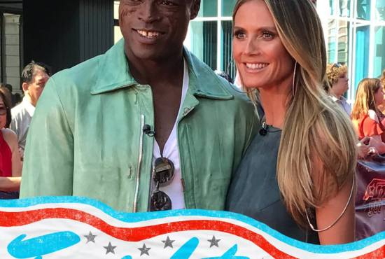 Seal and Heidi Klum AGT
