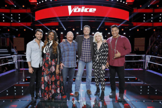 Team Blake The Voice Season 13