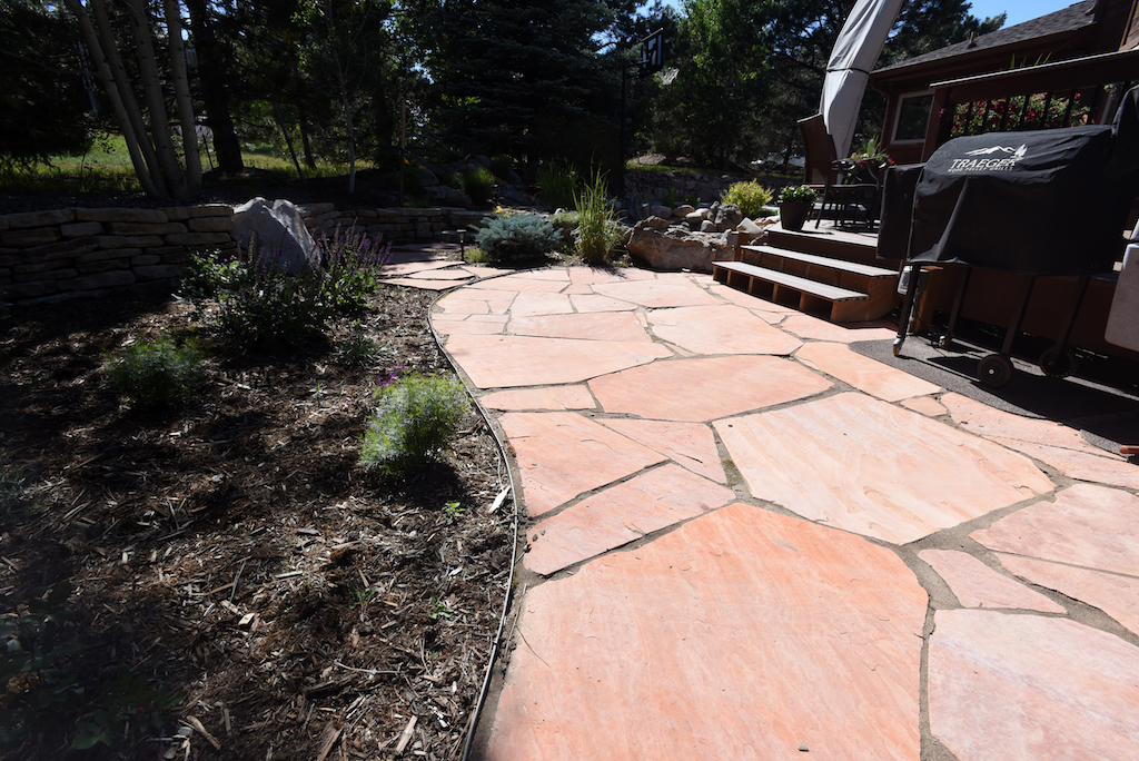pavers flagstone and concrete what s right for my colorado patio