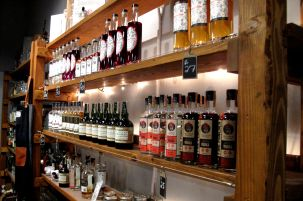 A large selection. GrandTen, though a small dstillery, offers a wide variety of spirits and cordials for purchase.