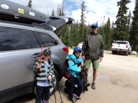 fall hiking, kids, parents, backpacking