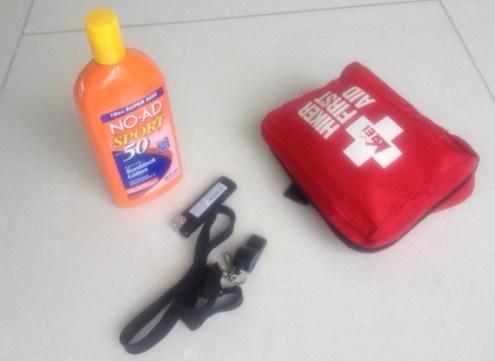 lost, emergency kit