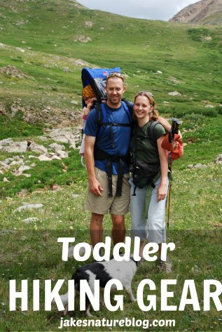 toddler hiking gear