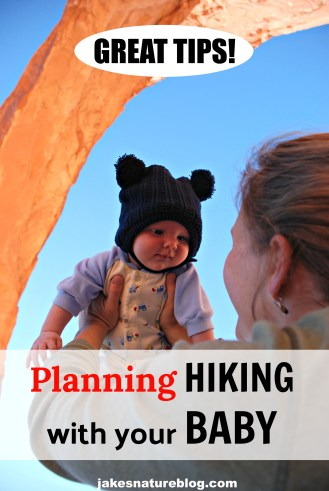 planning hiking with a baby