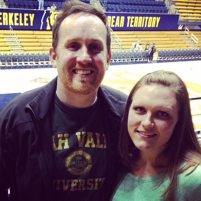 Date night... #Cal #UVU