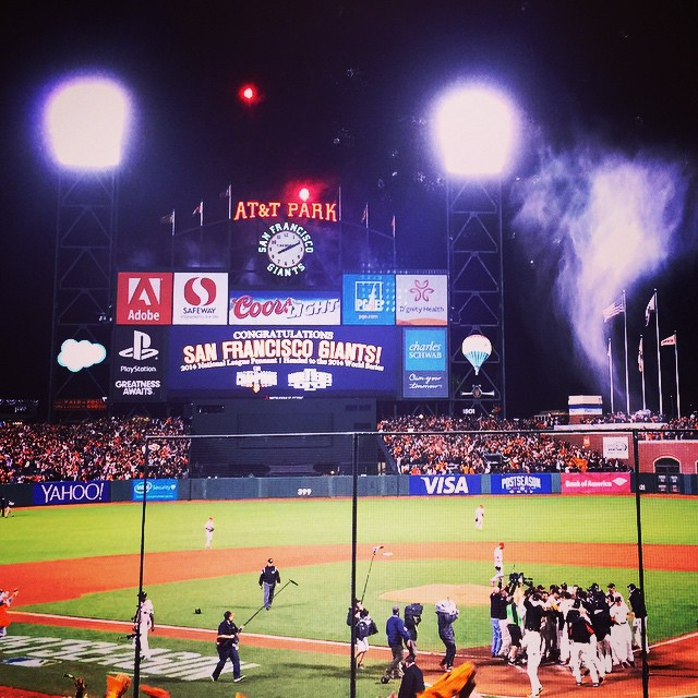 Checked in at AT&T Park
