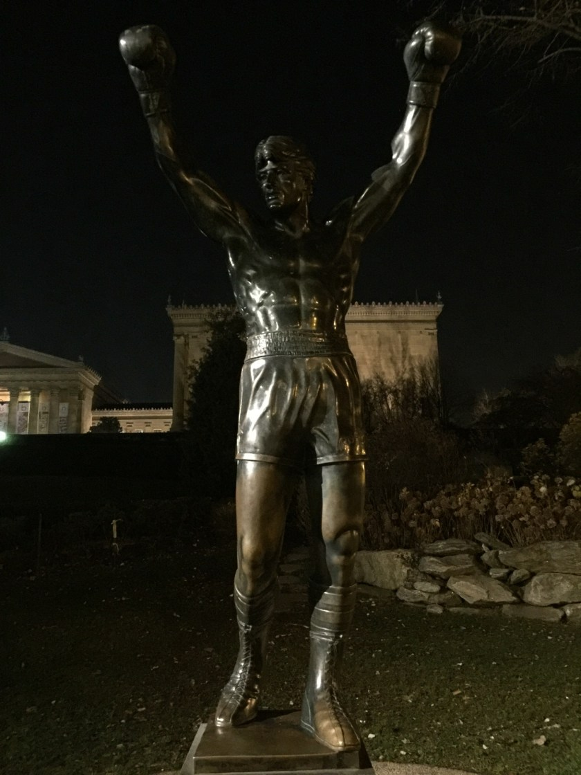 Checked in at Rocky Statue
