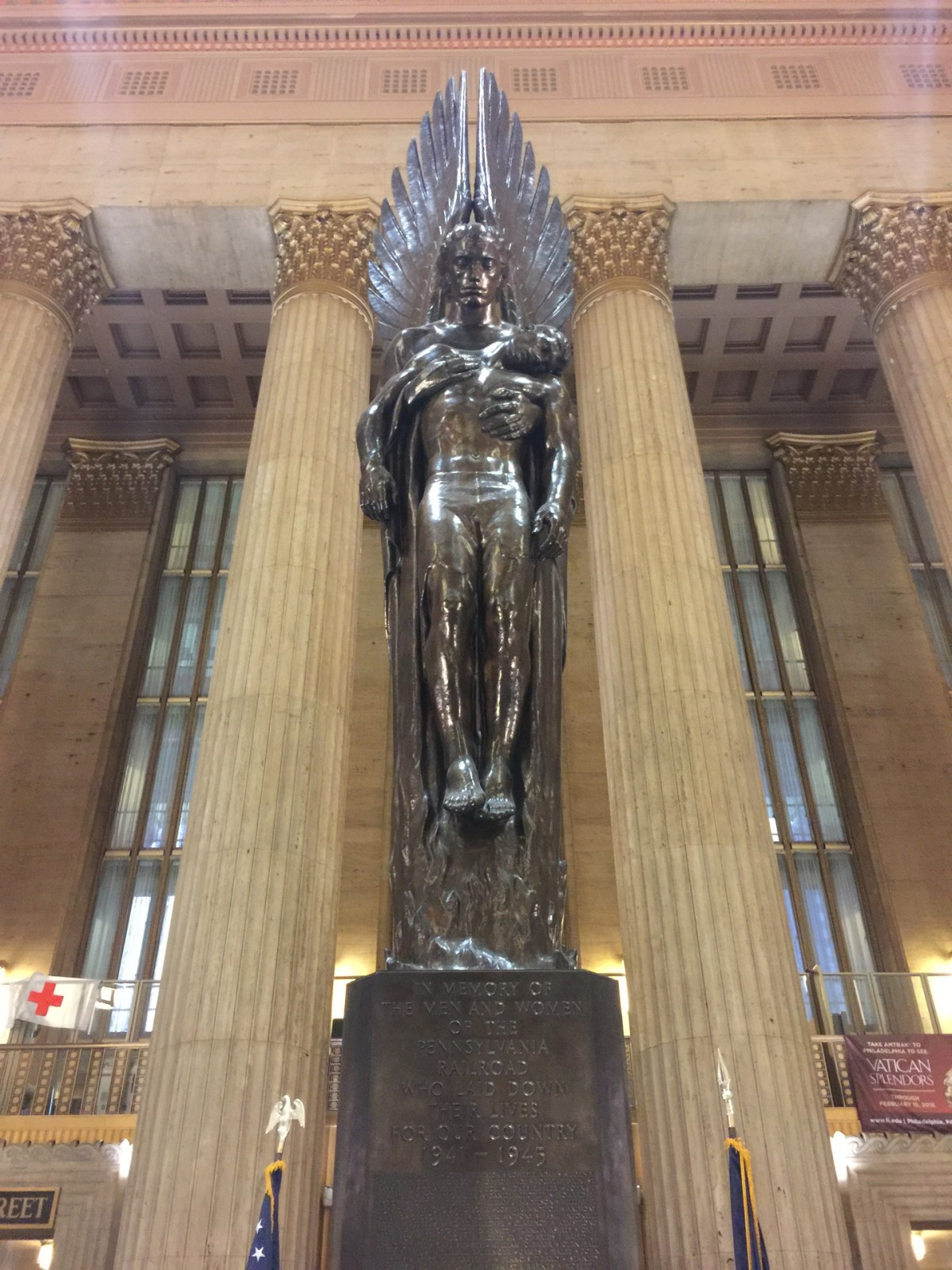 Checked in at 30th Street Station