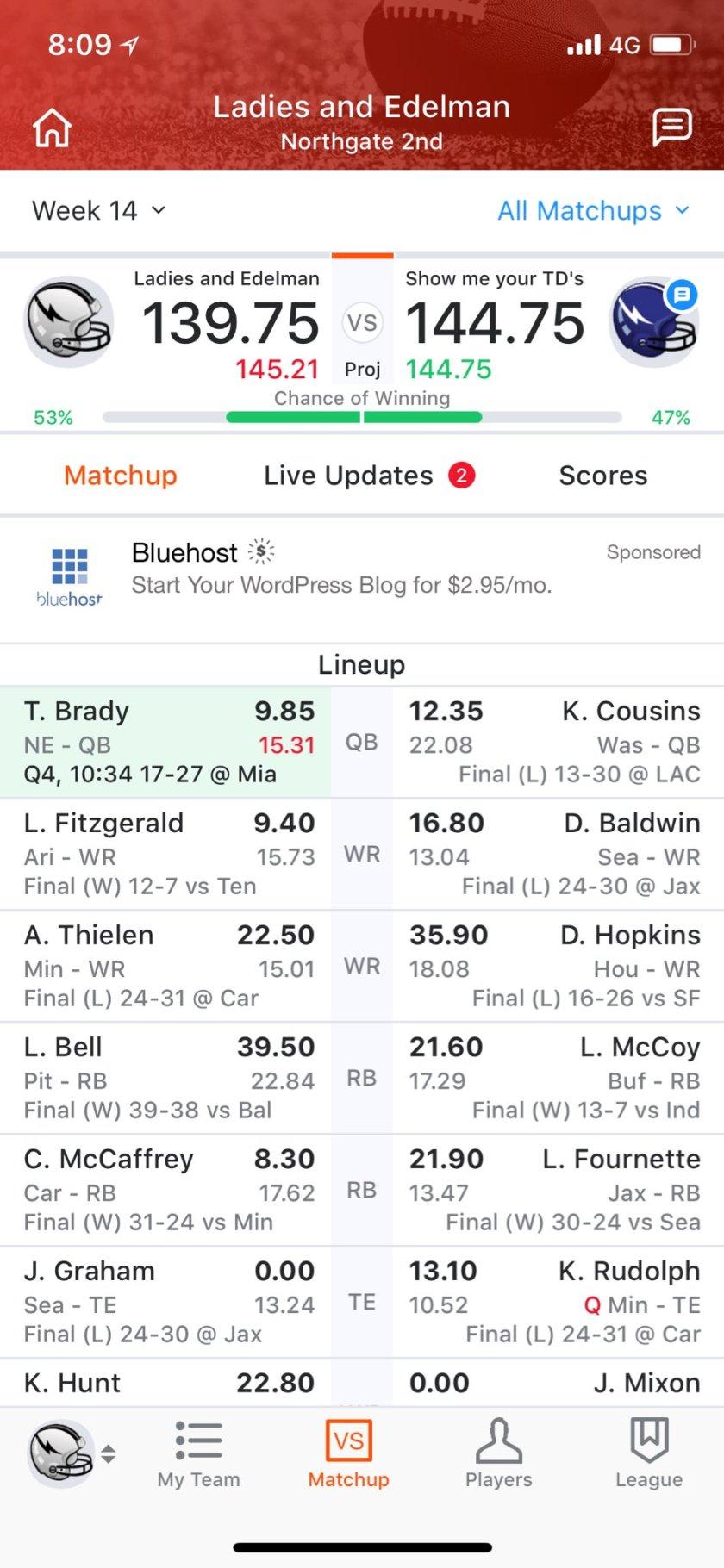 Tom Brady better not mess…