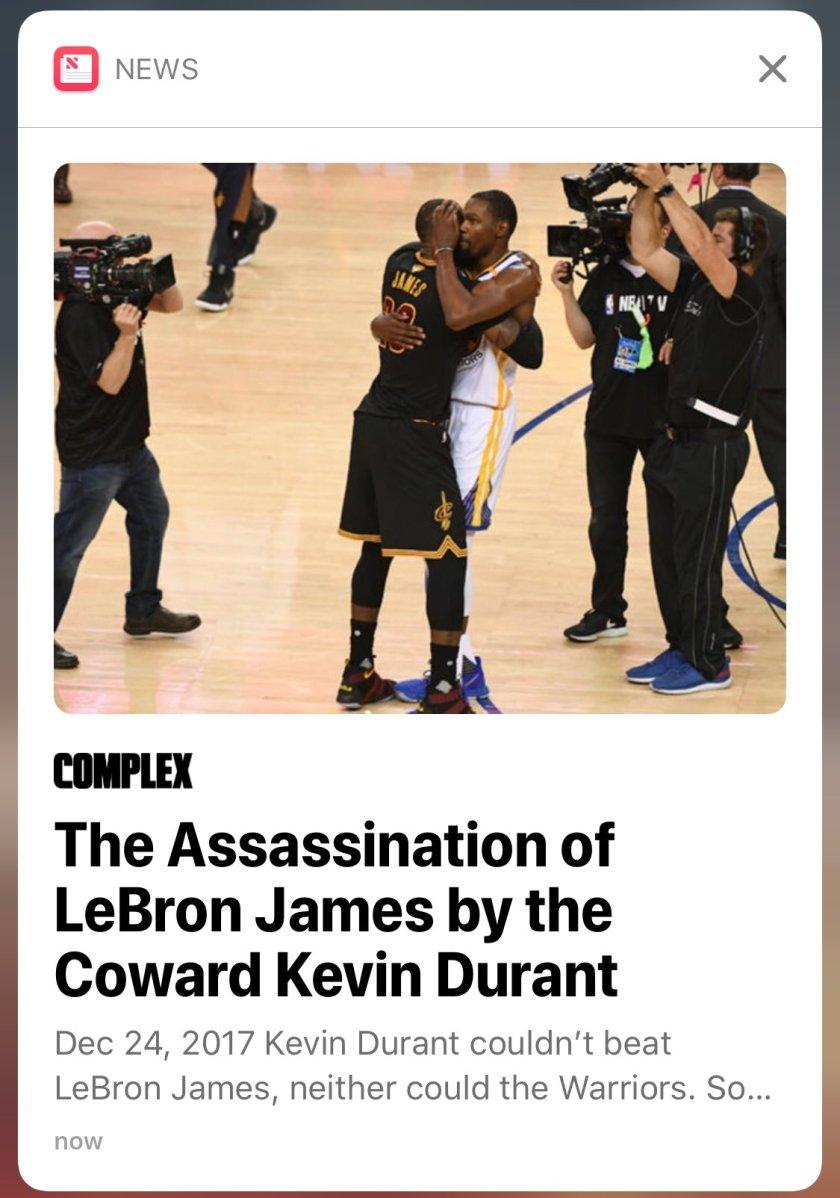 That's uhh, quite the headline…