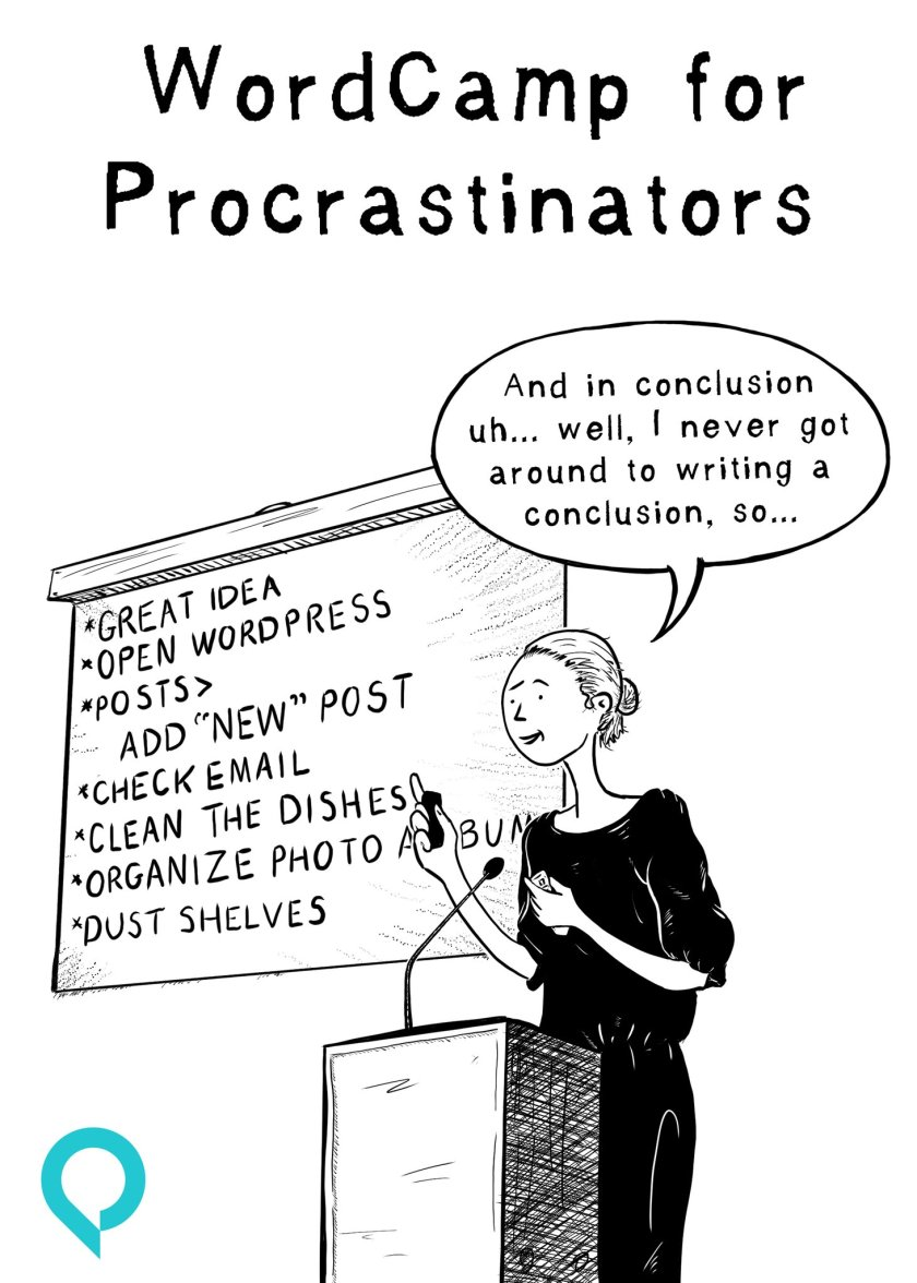RT @TheTorqueMag: WordCamp for Procrastinators.…