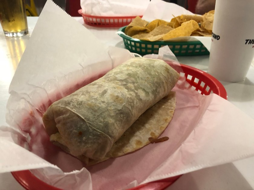 Actual California Burritos are the…