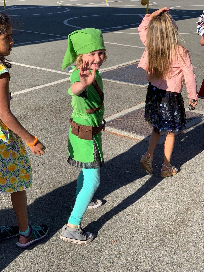 I'm at Woodside Elementary School…