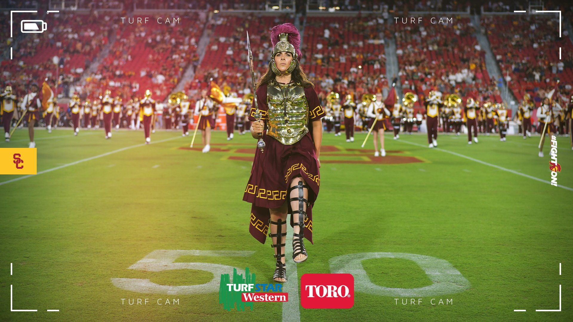 RT @USC_Athletics: #FightOn from the…