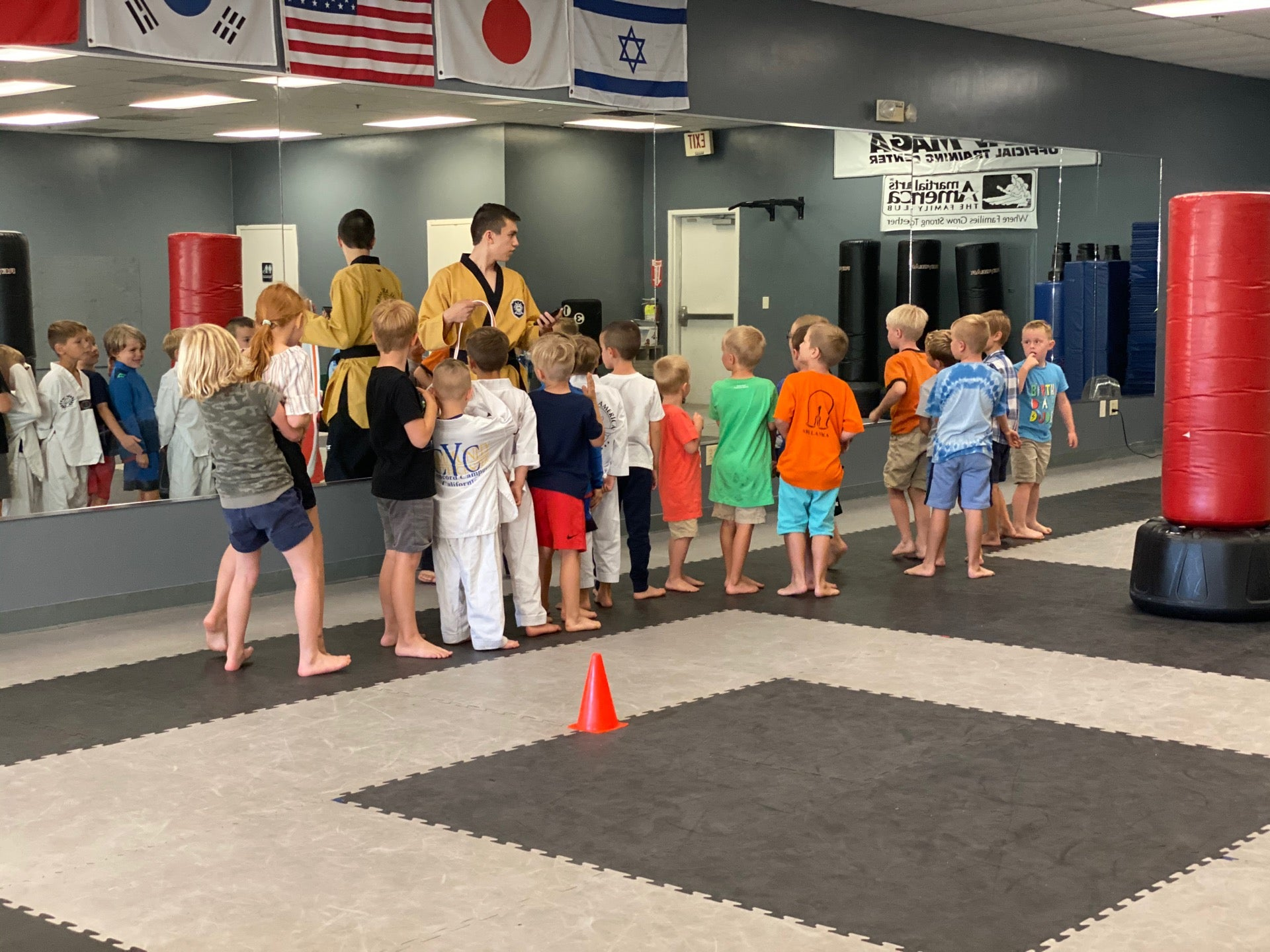 Checked in at Martial Arts America