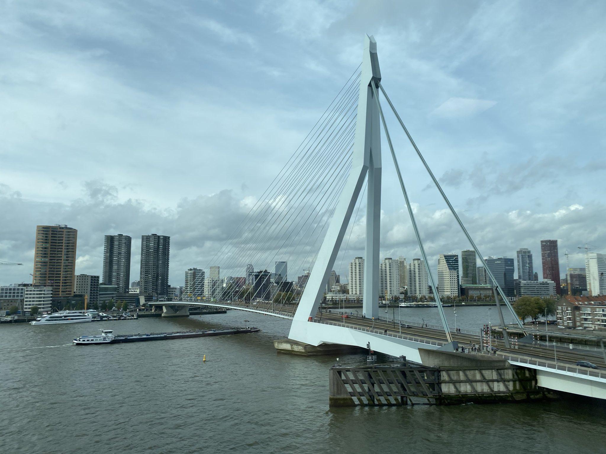 Rotterdam is cool. https://t.co/22hEBOQZhZ