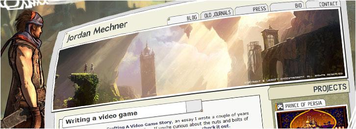 jordan mechner website