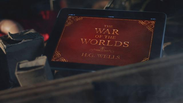 """""""War Of The Worlds"""" iPad Commercial"""