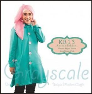 jaket terbaru wanita muslimah korea  R (13)
