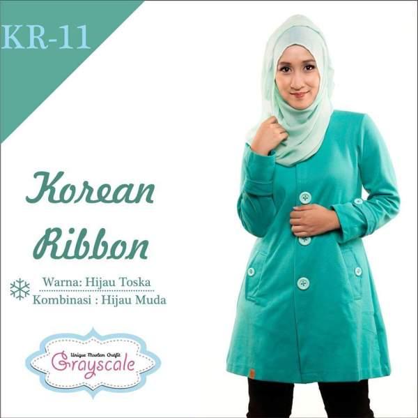 Desain Jaket Muslimah Korean