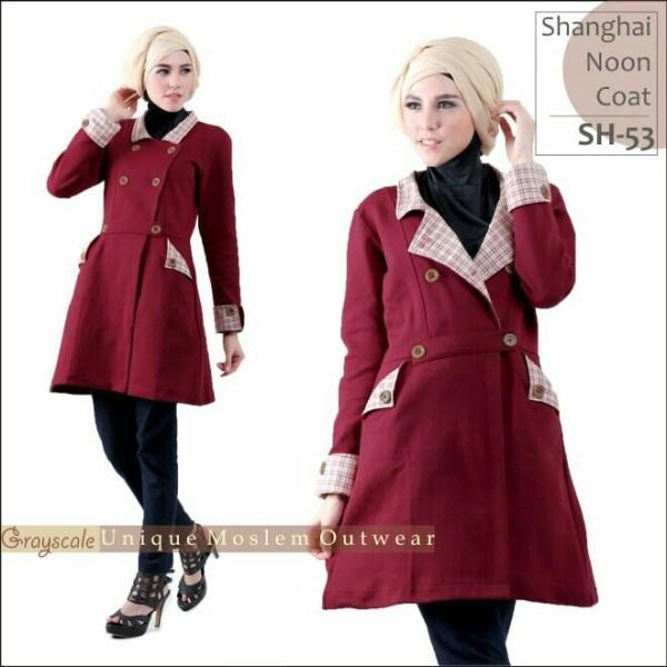 Desain Jaket Muslimah Shanghai