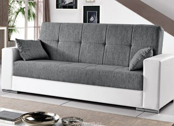 Divani In Microfibra | Electric Reclining Sofa Without Remote Control
