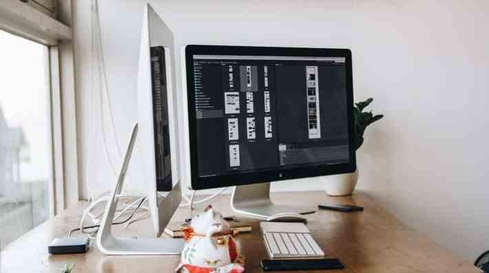 podzielony ekran monitor