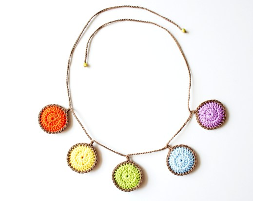 Circle Necklace Pattern by JaKiGu