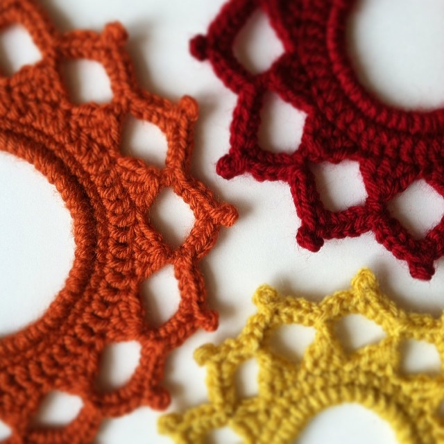 Crochet Picture Frames by JaKiGu