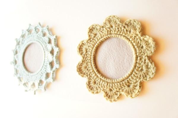 Custom Crochet Picture Frames by JaKiGu (Epic)