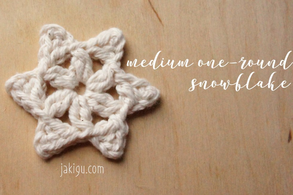Quick and Easy Christmas Project - Free Snowflake Crochet Pattern by JaKiGu