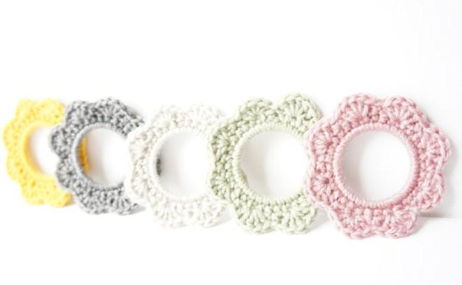 Crochet Picture Frame by JaKiGu, Original Design