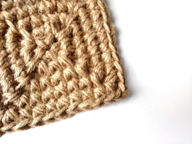 Jute Square Crochet Basket Pattern by JaKiGu 2
