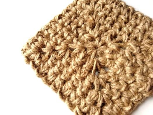 Jute Square Crochet Basket Pattern by JaKiGu 5