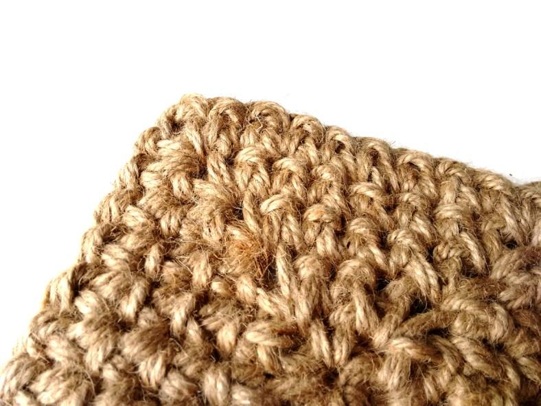 Jute Square Crochet Basket Pattern by JaKiGu