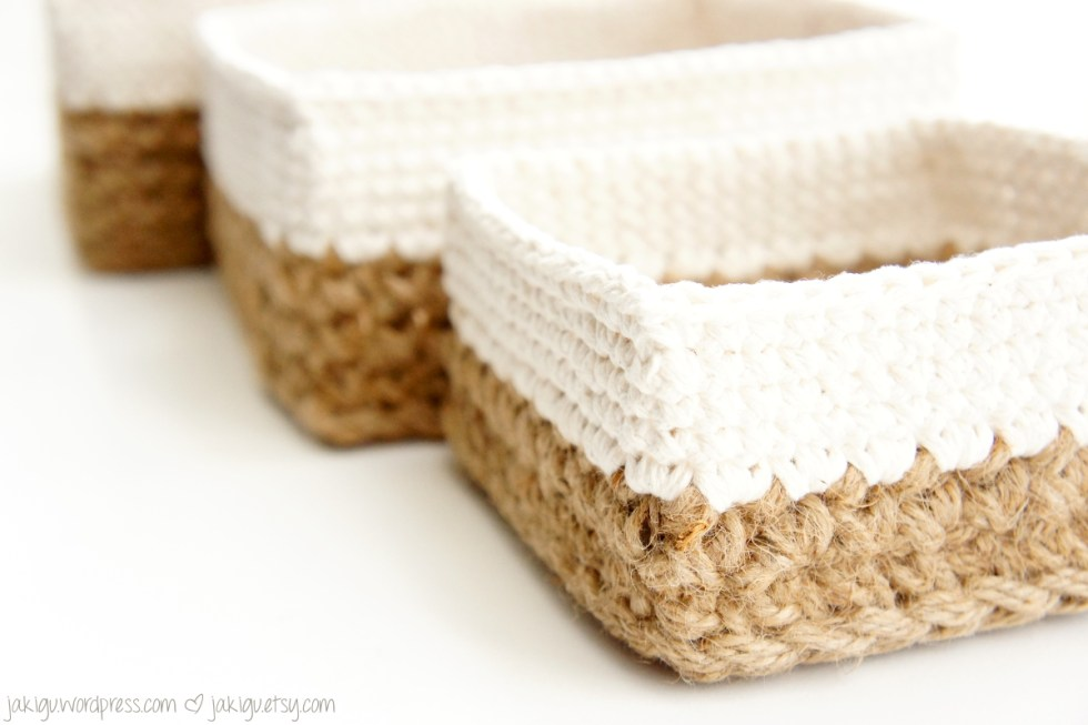 Square Stacking Baskets by JaKiGu