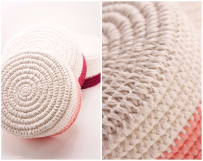 Sturdy Coiled Crochet Basket