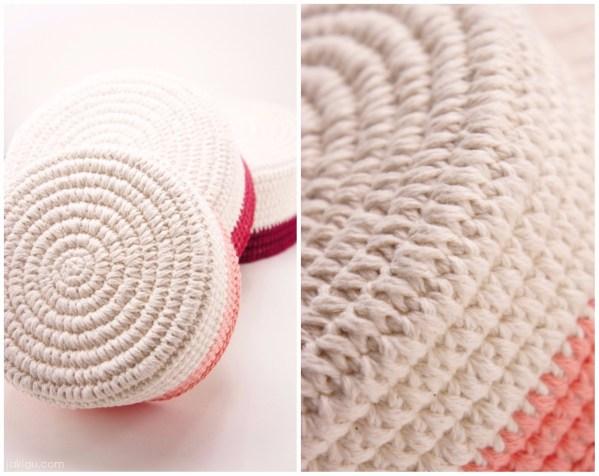Sturdy Coiled Crochet Basket