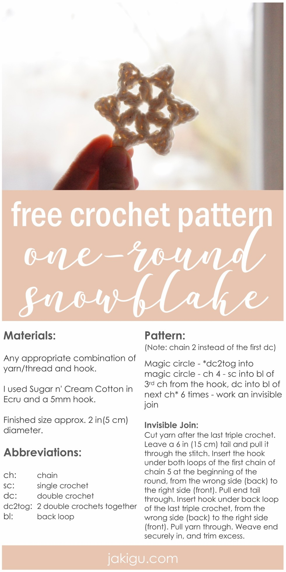 Quick and easy winter crochet project - a perfect yarn buster.