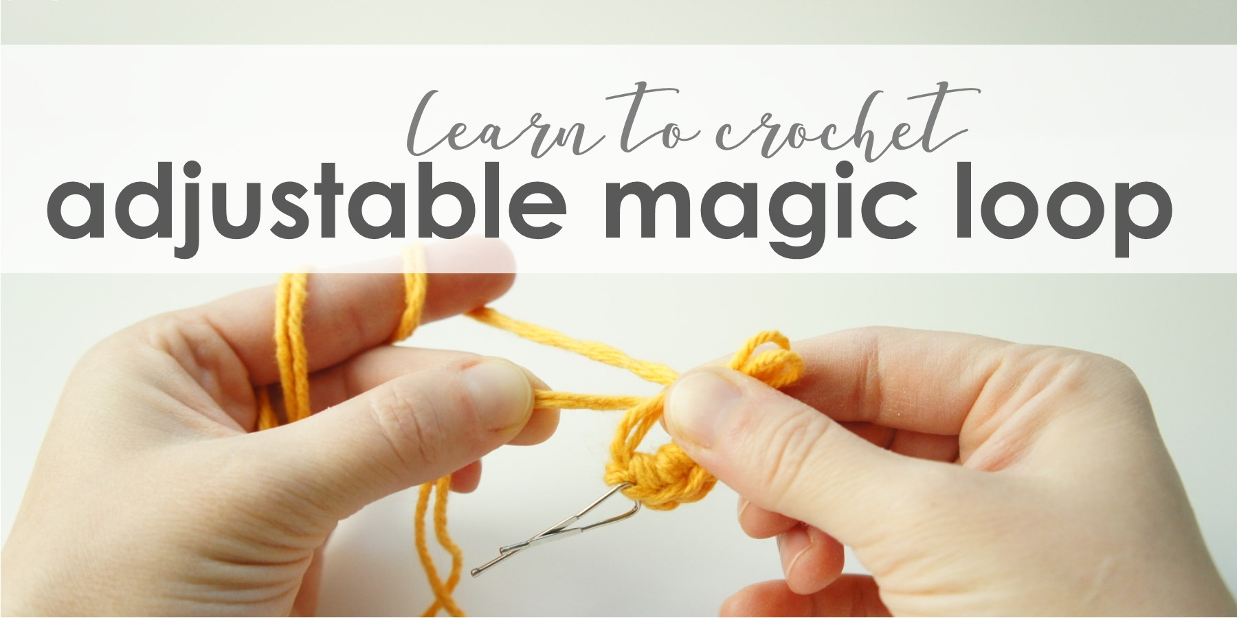 jakigu.com | learn to crochet | adjustable loop