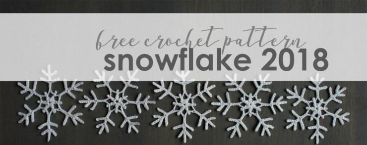 jakigu.com | free crochet snowflake 2018