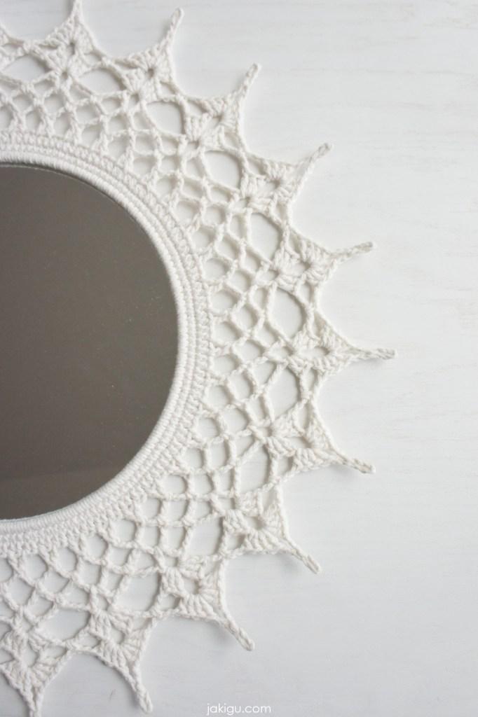 crochet mirror doily | jakigu.com