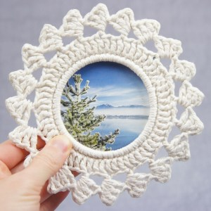 jakigu.com | Crochet Picture Frame Pattern Collection 2018