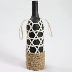 Bottle Carrier Crochet Pattern MBISH by jakigu.com