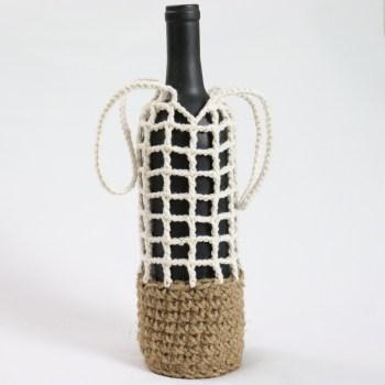 Bottle Carrier Crochet Pattern MUL by jakigu.com