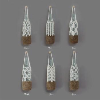 crochet bottle carriers | get the pattern