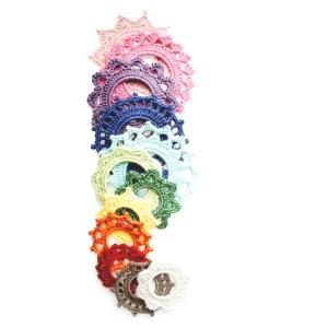 crochet picture frame collection | jakigu.com crochet pattern