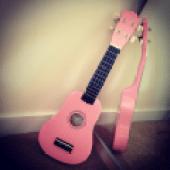 My little pink ukulele